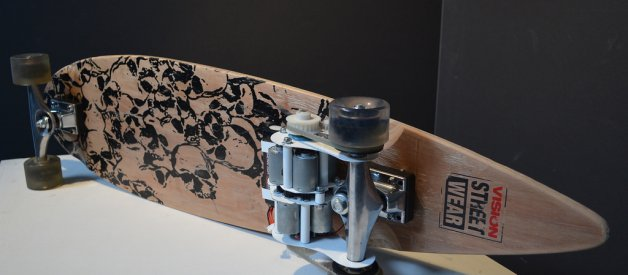 Nick Jones, Upcycled powered skateboard
